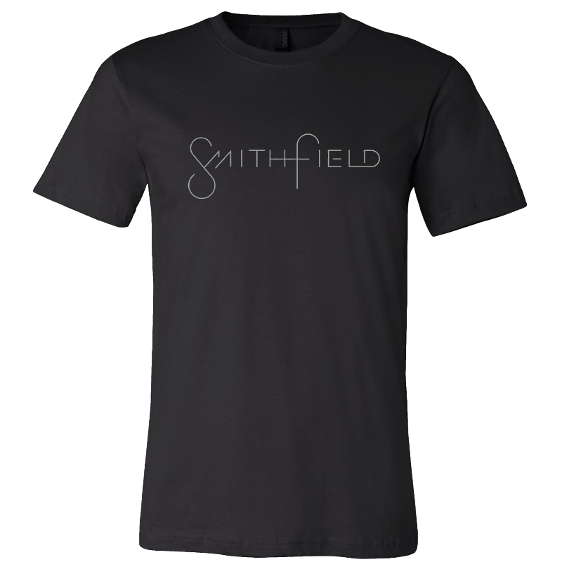 Smithfield Black Logo Tee